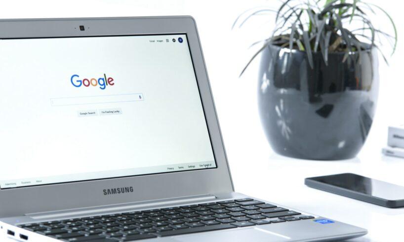 Google forside